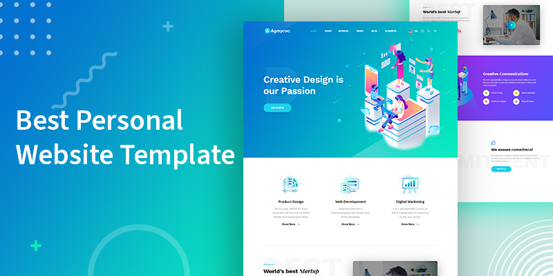 Best Personal Website Theme