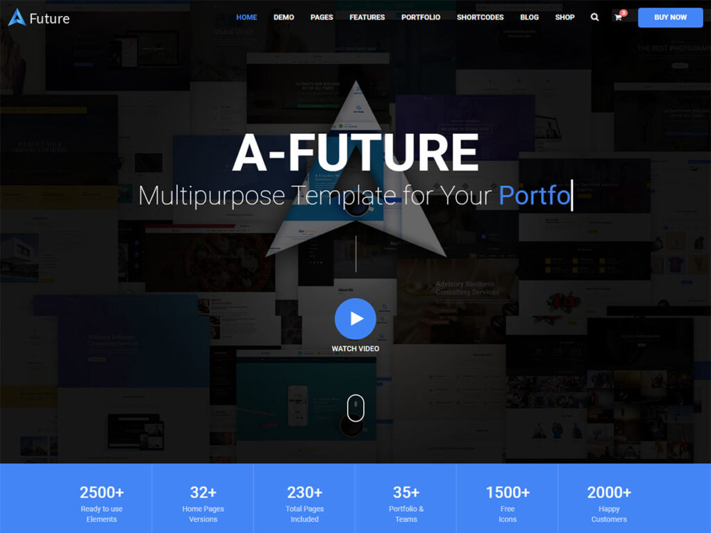 A future - BootStrap Blog Template