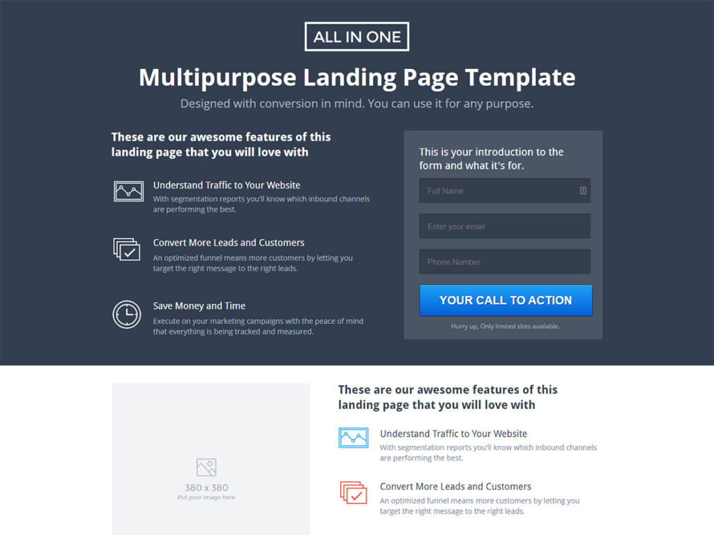 All In One - Bootstrap comment Template