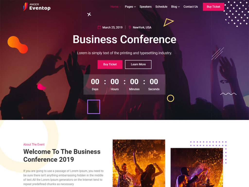 Anger - Bootstrap Blog Template