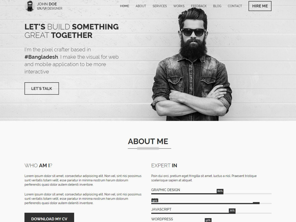 CVIT - Booking Website Templates
