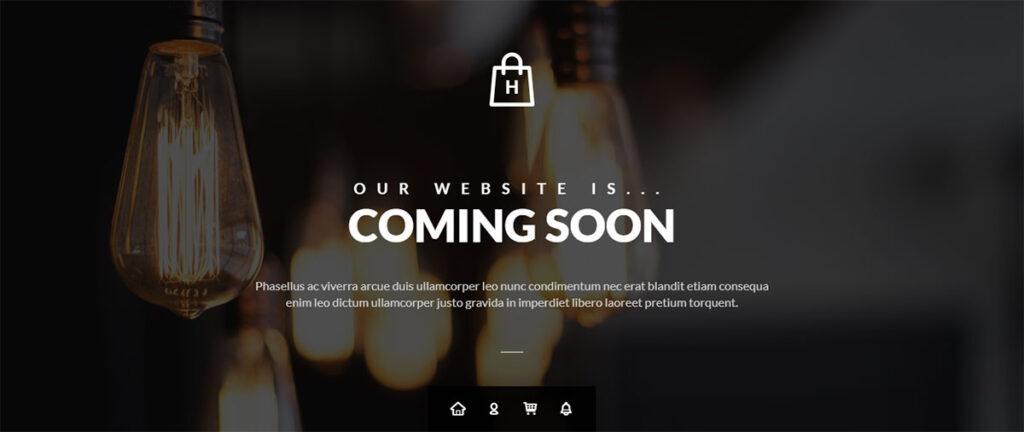 Hopz - Coming Soon Page