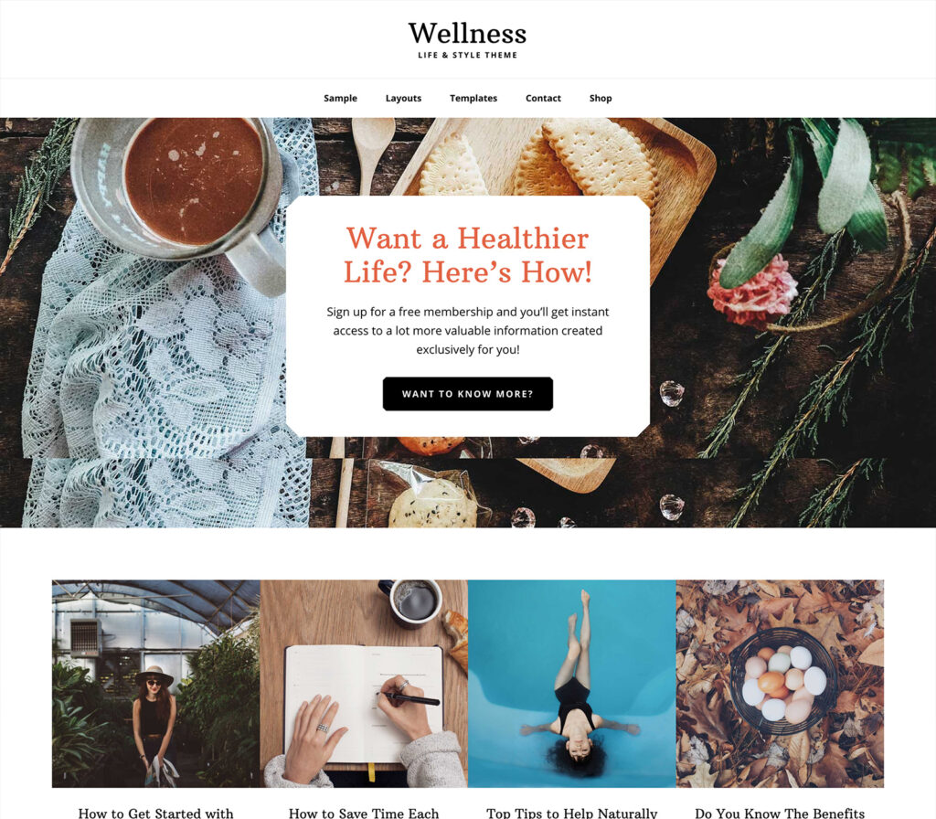 Wellness Pro - Genesis Child Theme