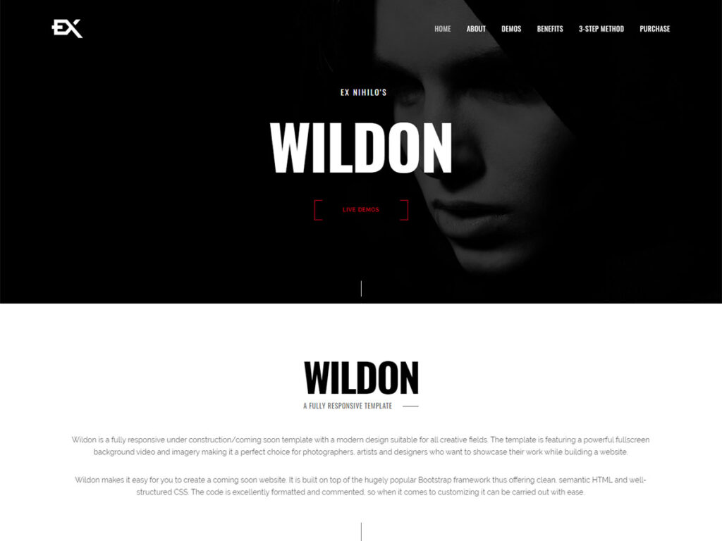 Wildon - Coming Soon Page